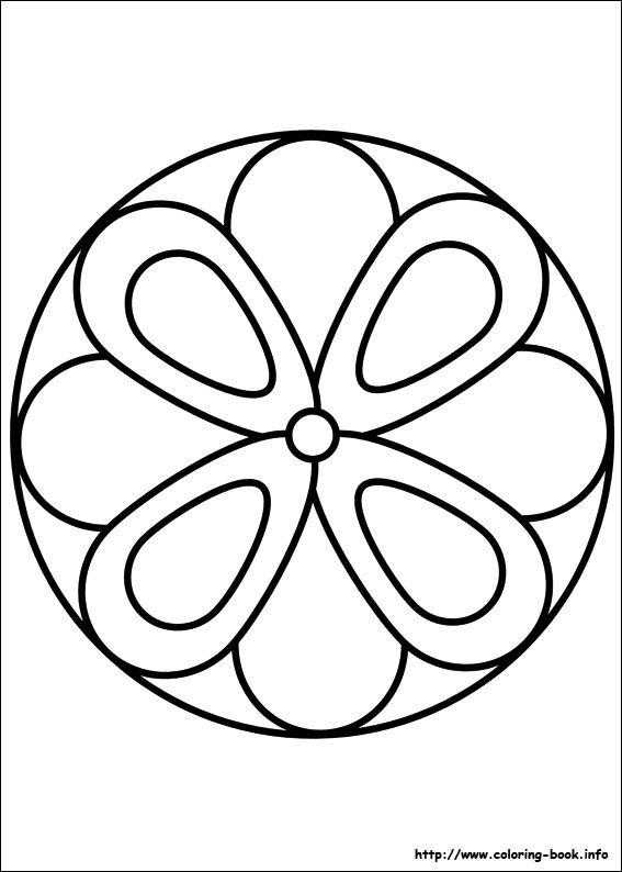 simpler mandala | Mandalas | Pinterest | Mandalas, Mandalas para ...