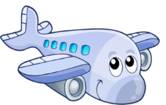 Humor Passengers Panic When They Realize That The Pilots Are Blind Cartoon Airplane Happy Paintings Cartoon Plane