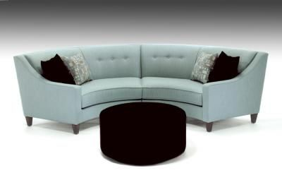 Perfect Solution To New Smaller Living Room Conversation Sofa