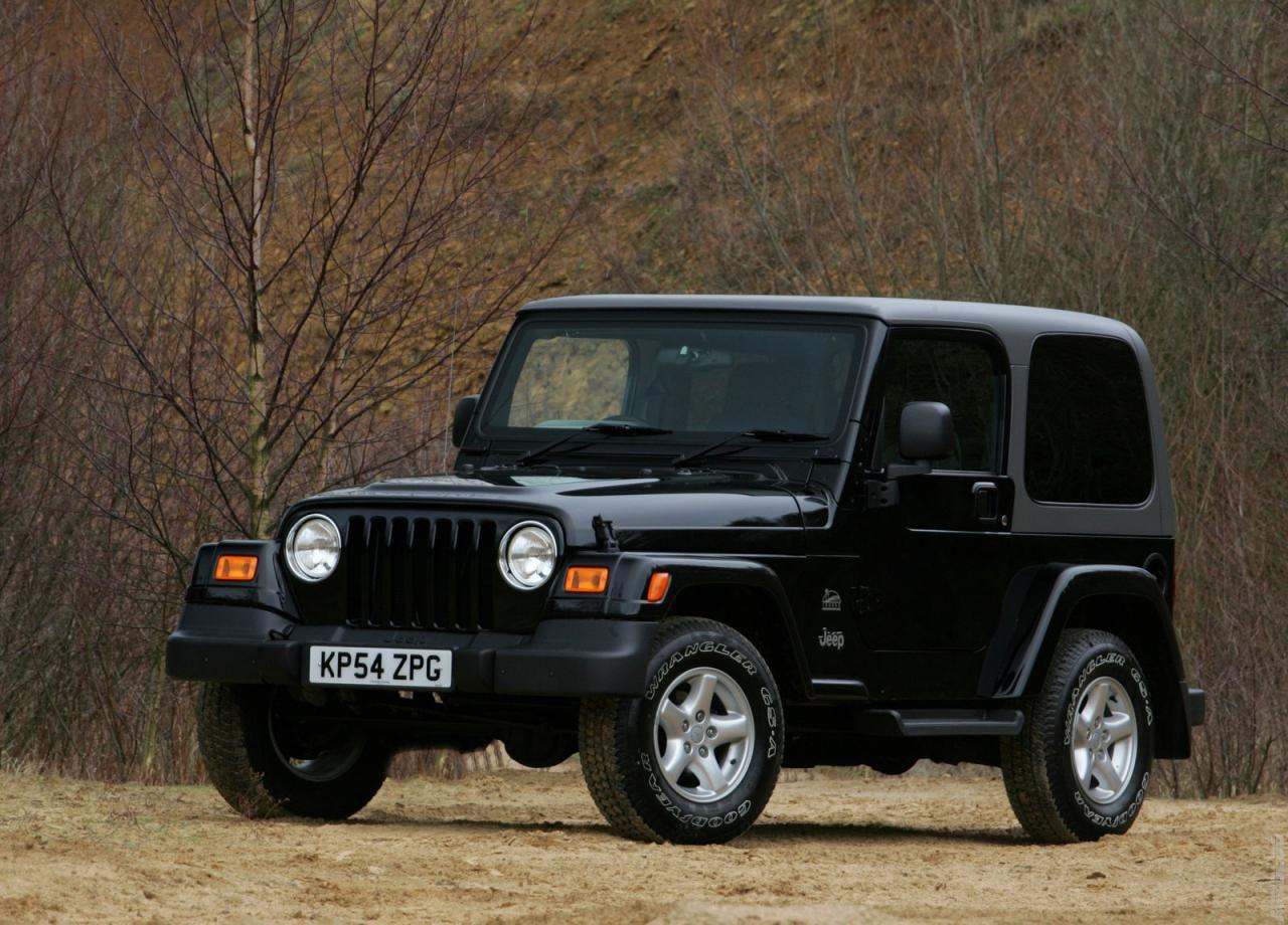 2005 Jeep Wrangler Uk Version