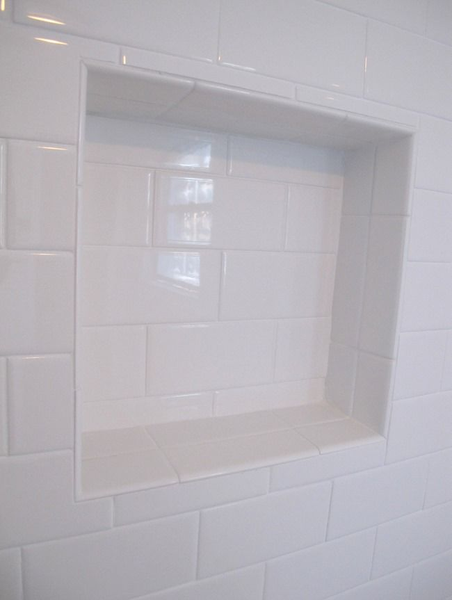Subway Tile Shower Badrum Kakel