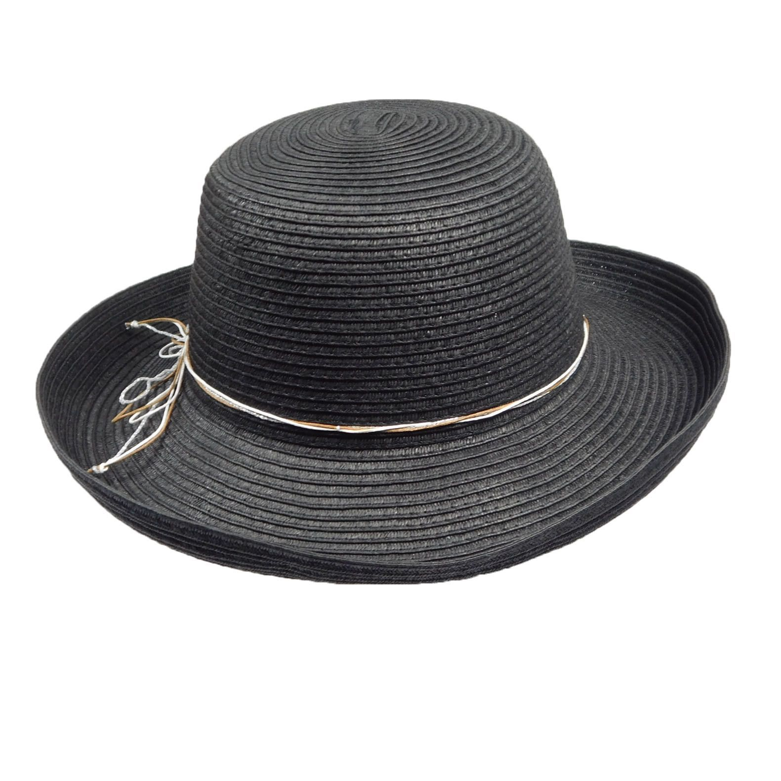 Scala Pronto Black Kettle Brim Hat