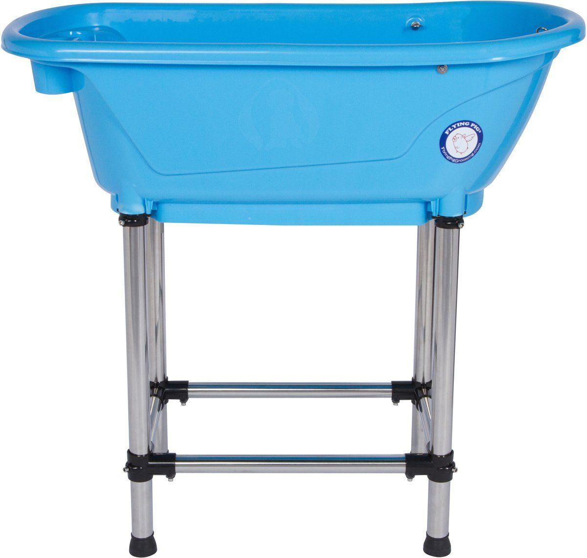 Flying Pig Pet Dog Cat Washing Shower Grooming Portable Bath Tub
