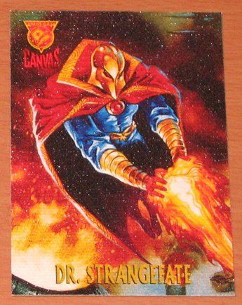 Amalgam (Fleer/SkyBox 1996) Canvas Card #1 Doctor Strangefate VG