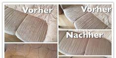 Microfasercouch Mit Glasreiniger Reinigen Sofa Reinigen Microfaser Sofa Reinigen Microfaser Couch Reinigen