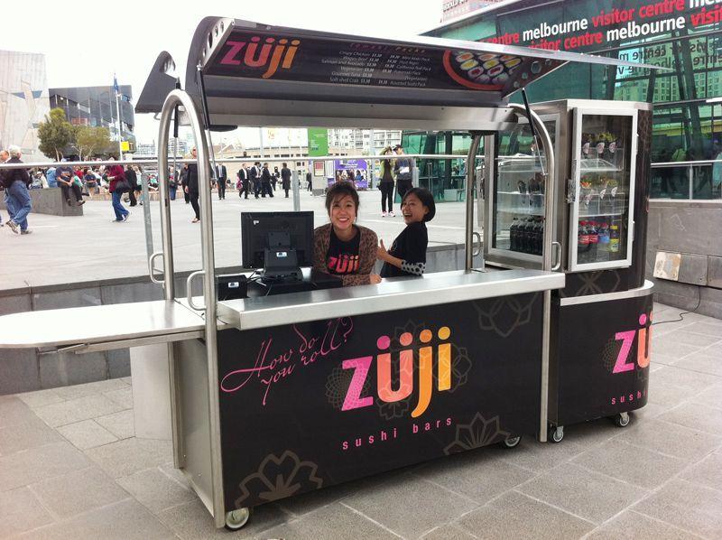 Mobile Sushi Cart Melbourne, AUS Desain, Modern, Rumah