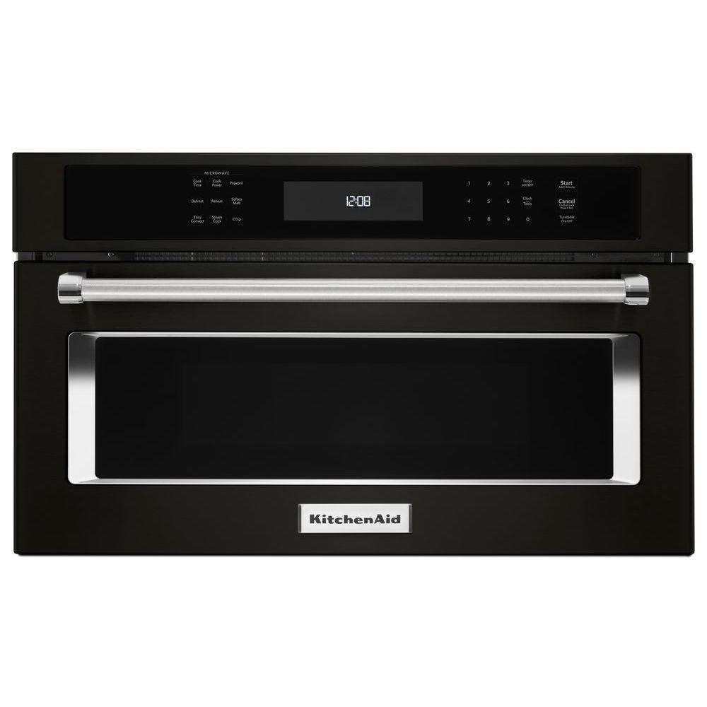 Kitchenaid 14 cu ft builtin microwave in black