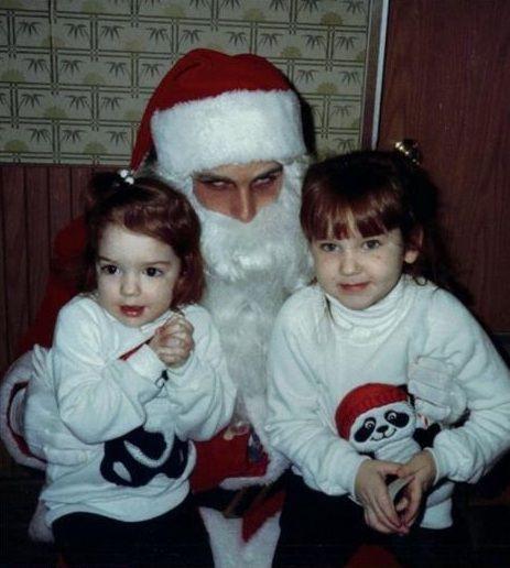 Santa can't wait for his next dimebag.