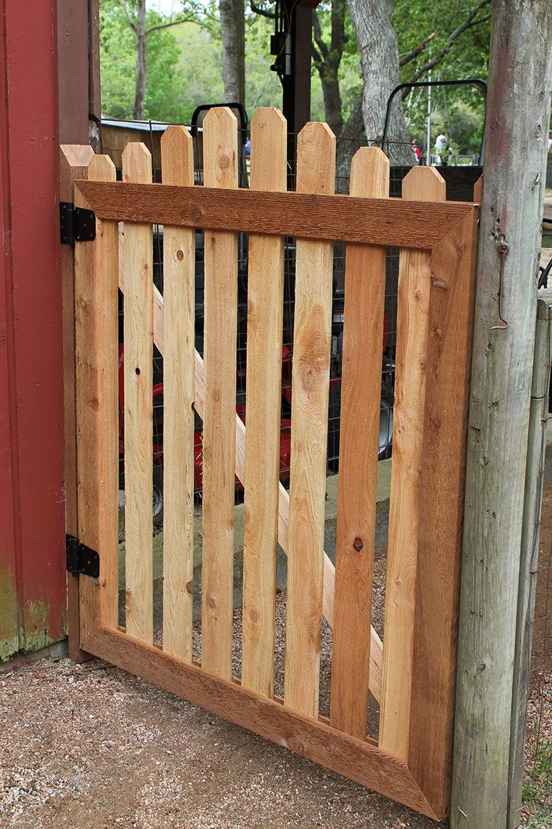 How to build a garden gate diy pallet doors