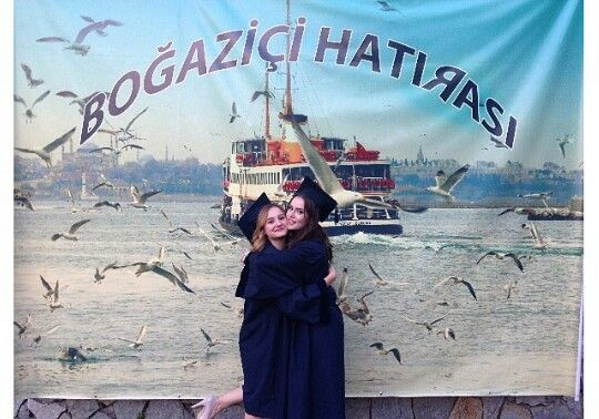 Fahriye Evcen #graduation