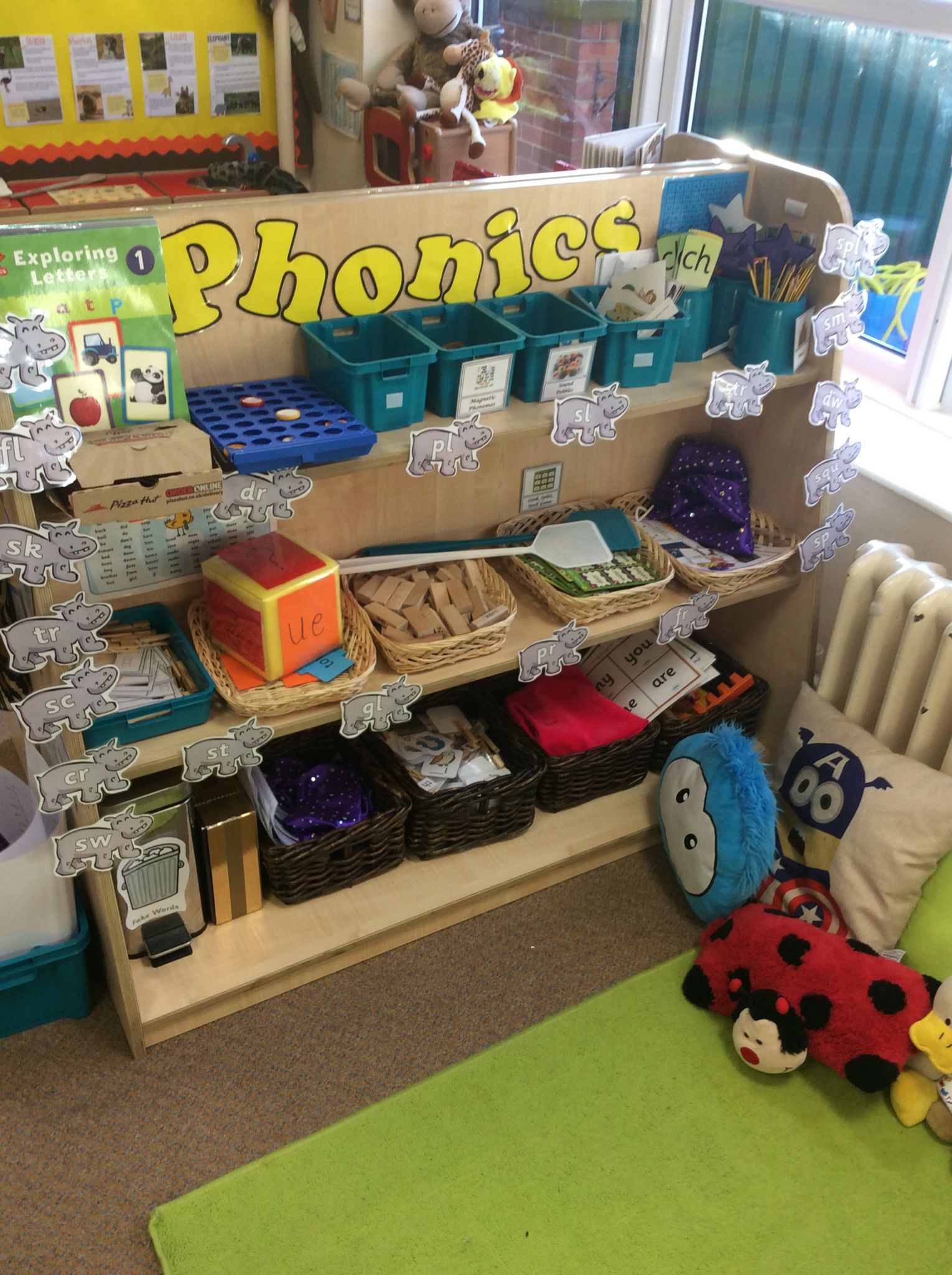 Classroom Ideas Year One ~ Phonics area letters and sounds pinterest