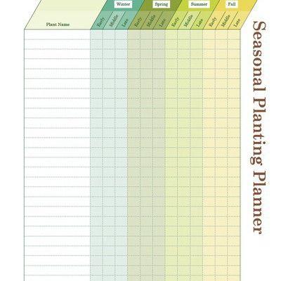 Printable Garden Notebook Sheets | Free garden planner ...