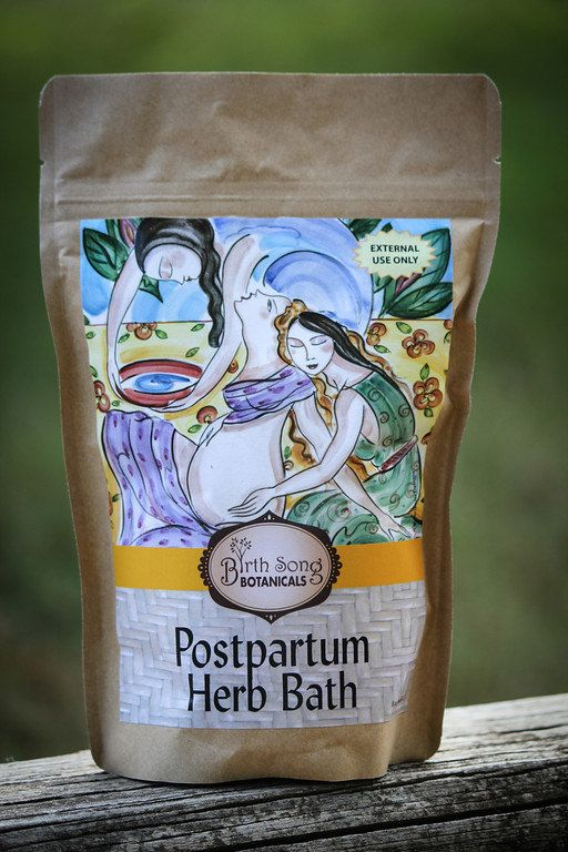 Healing Postpartum Herb Bath. I know so many women who love this herb bath. Birth Song Botanicals also has many other wonderful, healthy products.