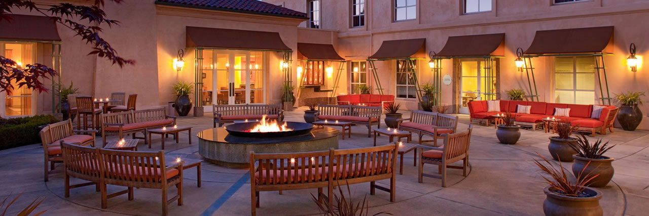 Santa Rosa Hotel In Sonoma Wine Country Hyatt Vineyard Creek And Spa