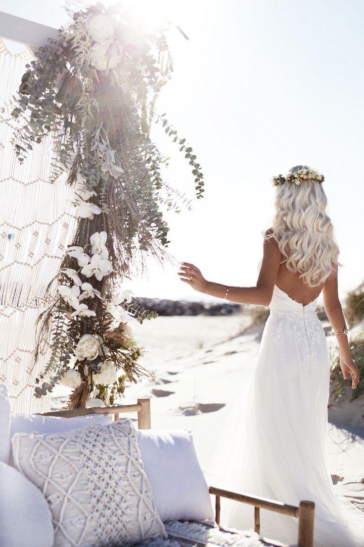 Gypsylovinlight boho beach bride bride style pinterest beach