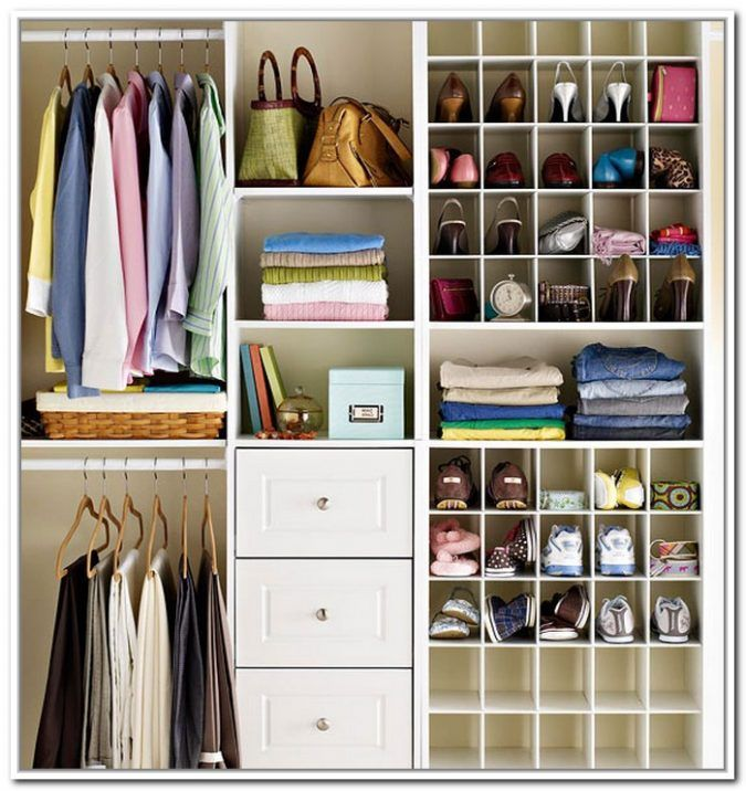 Closet Design Ideas: Shoe Organization Ideas For Small Closets ...
