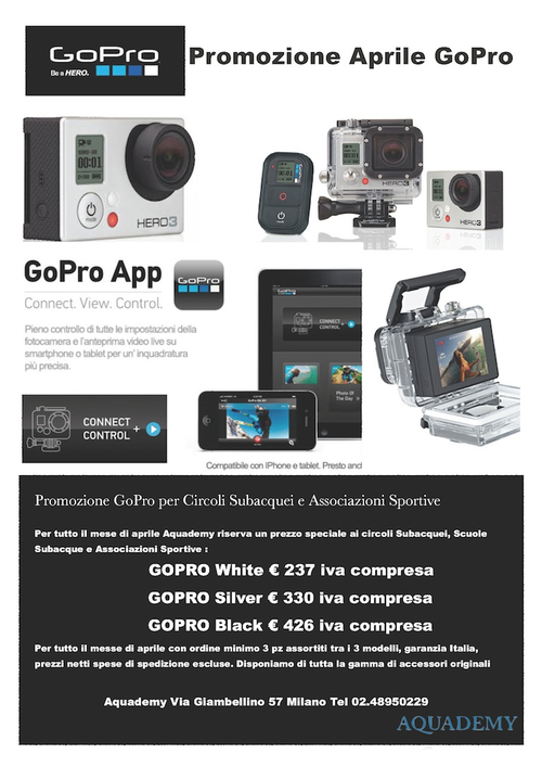 A great offer for diving center and diving school…..