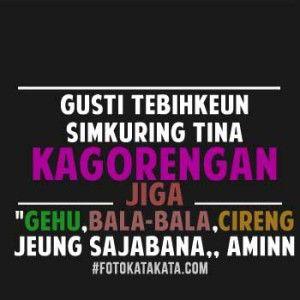 Kumpulan Dp Bbm Lucu Bahasa Sunda Terbaru 2017 Dengan Gambar