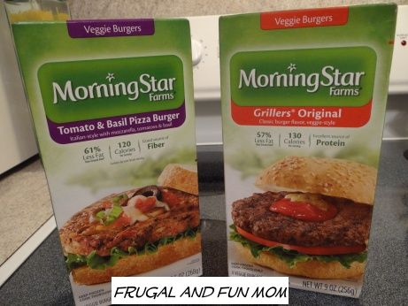 Morning Star Farms Tomato Basil Pizza Veggie Burgers Review Great