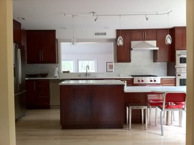 Two Level Kitchen Island With Table Height Seating Kitchen Island Table Kitchen Island Size Kitchen Island Design