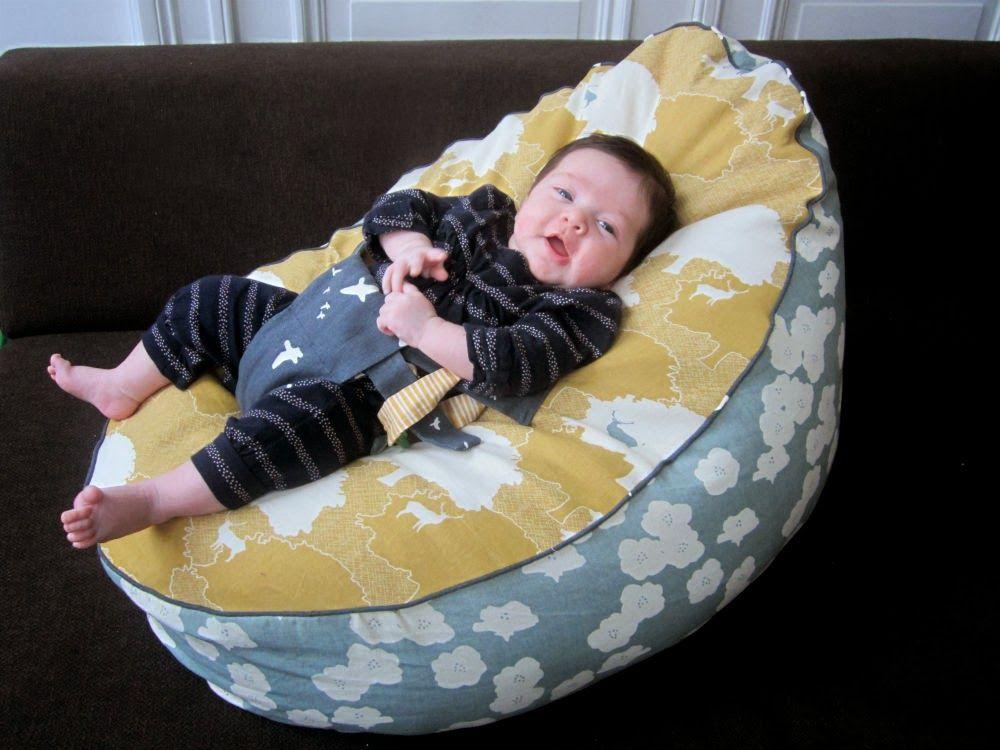 Como hacer un puf diy para un bebé