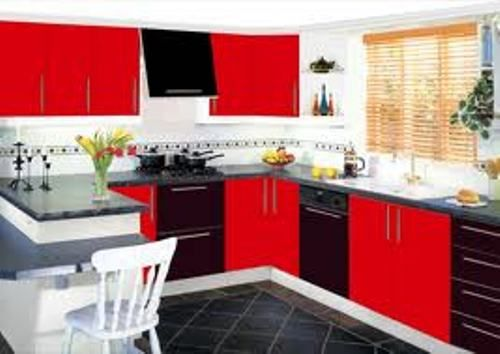I Like That Home Pinterest Red Kitchen Kitchens And New Black And Red Kitchen Designs