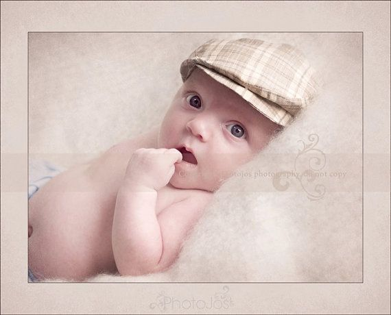 Newborn Flat Cap. Baby Flat Cap. Toddler Flat by verityisabelle ... 5484b94ffa9
