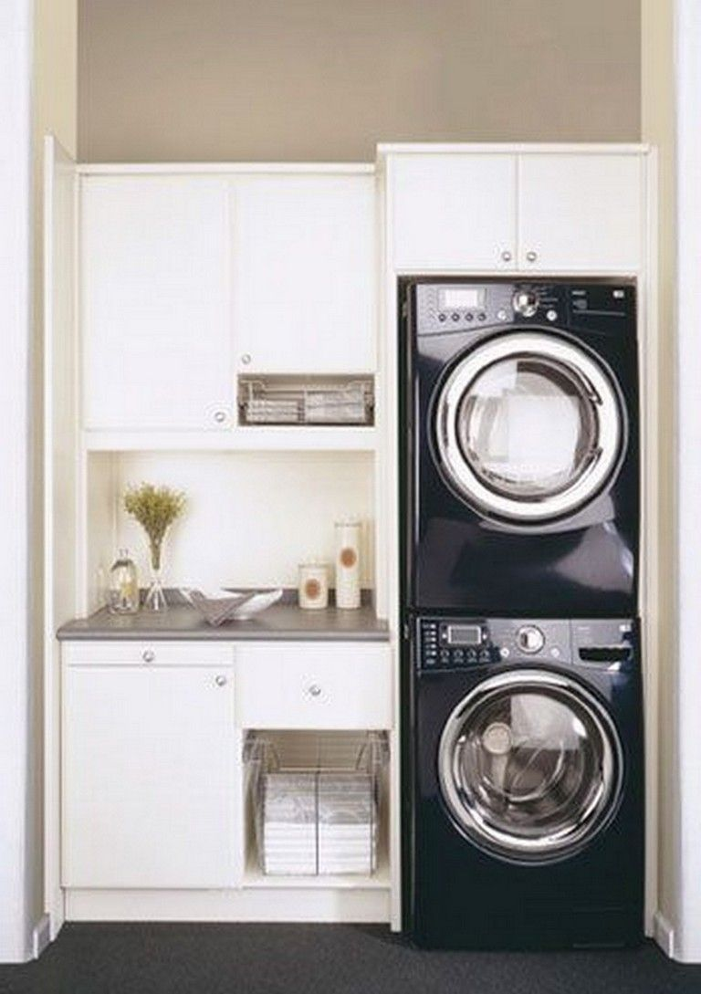 20+ CLEVER IDEAS TO BUILD EFFICIENCY SMALL LAUNDRY ROOM images