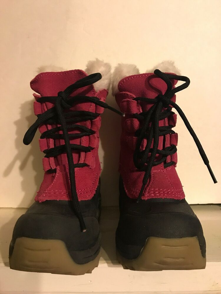 c47115e1bf4 (eBay link) Lands End Pink Girls Boots Size 9 Kids  fashion  clothing   shoes  accessories  kidsclothingshoesaccs  girlsshoes