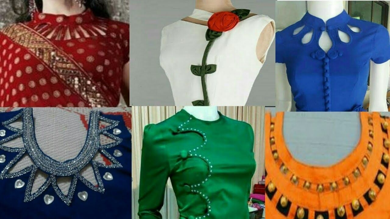 Kurti stylish neck designs catalog photo