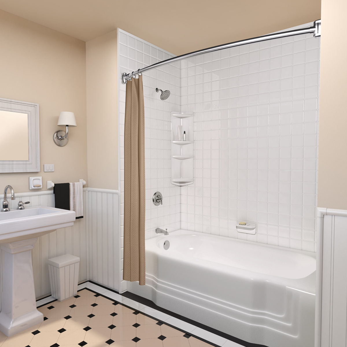 A bath fitter remodel makes your entire bathroom feel new for New bathtub ideas