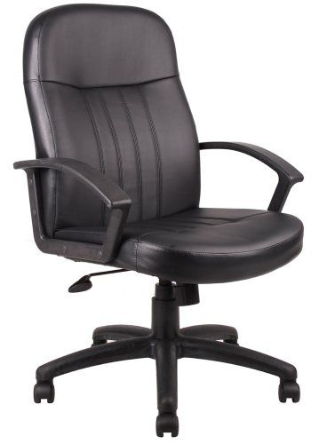 Boss B8106 Executive Chair Black Office Chairs Canada Best