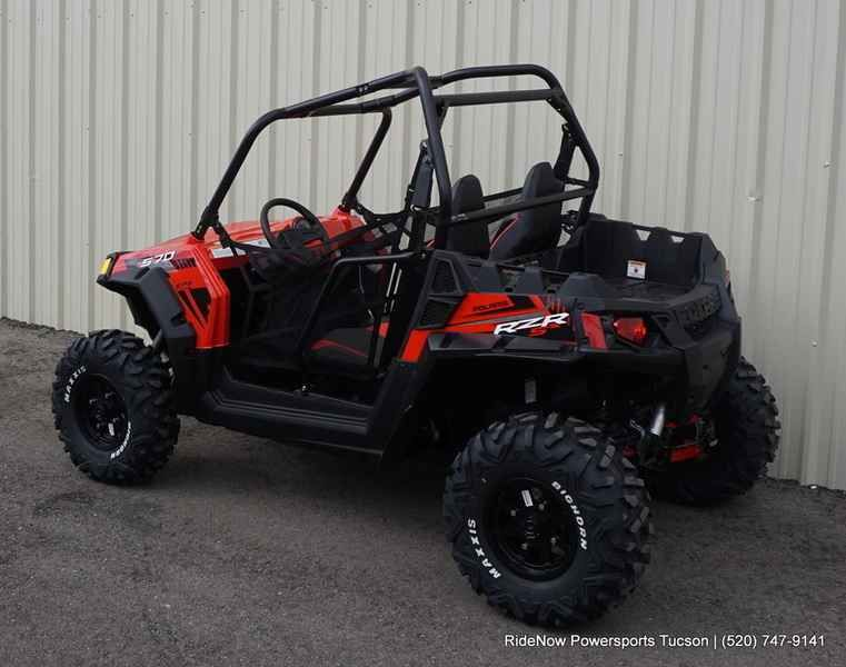 New 2017 Polaris RZR S 570 EPS Indy red ATVs For Sale in Arizona