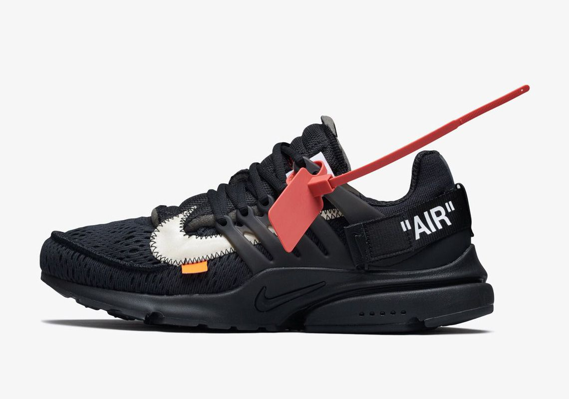 Off White Nike Presto Official Release Info Photos Sneakernews Com Air Presto Black Nike Air Presto Black Presto Sneakers