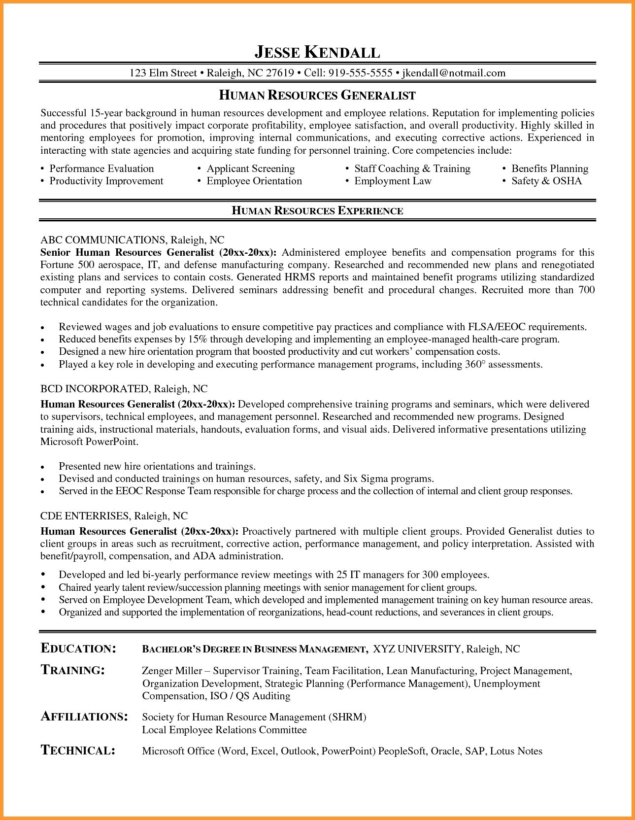 Resume Example Analyst Human Resources Resume Resume Examples Human Resources