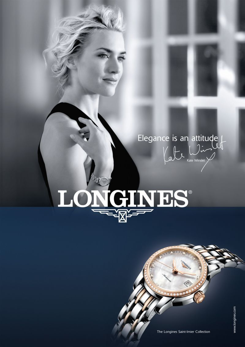 Kate Winslet For Longines Kate Winslet Celebrity Advertising Celebrities