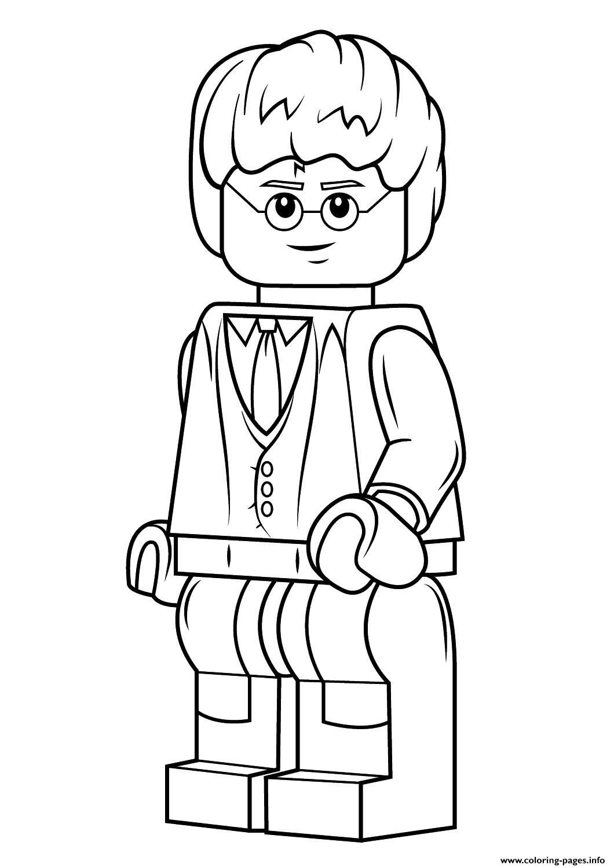 Disegni Harry Potter Di Lego Da Colorare Migliori Pagine Da