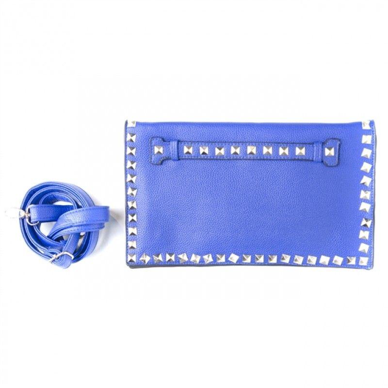 Clutch Valentino Azul Klein Inspired  http://www.fashionera.com.br >> presentes de dia dos namorados com até 70% OFF e FRETE GRÁTIS!