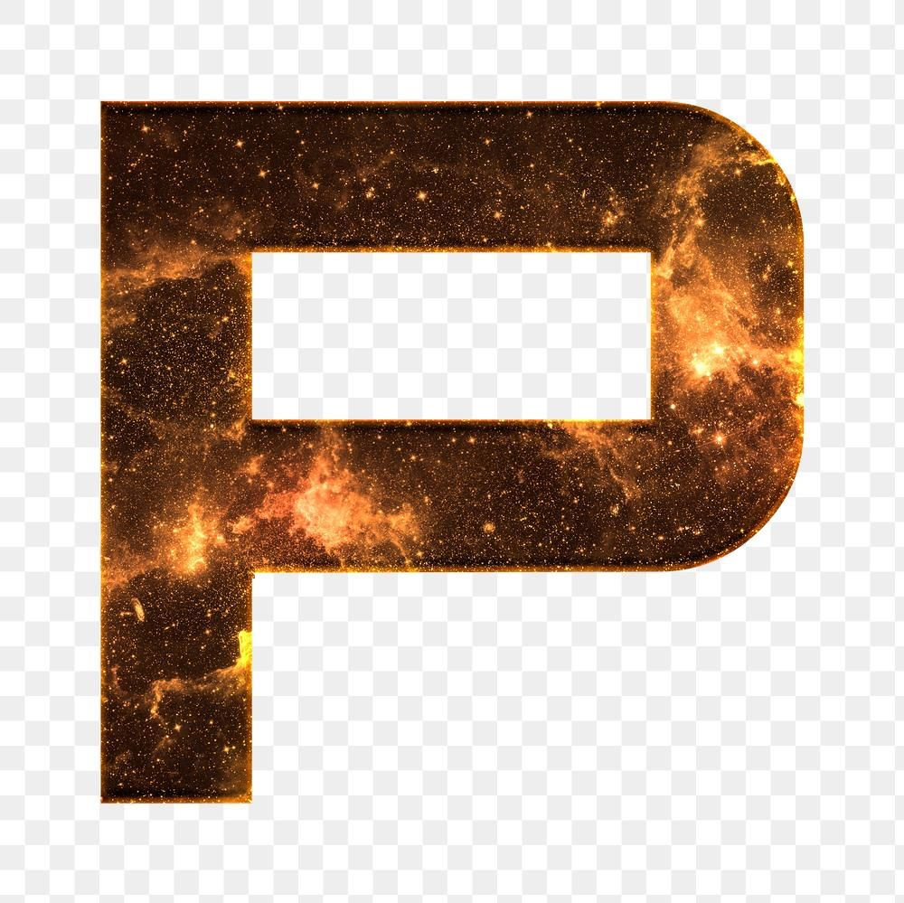 Png Letter P Galaxy Effect Typography Brown Font Free Image By Rawpixel Com Karn Typography Lettering 3d Text Effect