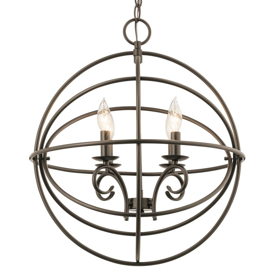 Kichler lighting vivian 1902 in 4 light olde bronze globe kichler lighting vivian 1902 in 4 light olde bronze globe chandelier arubaitofo Images