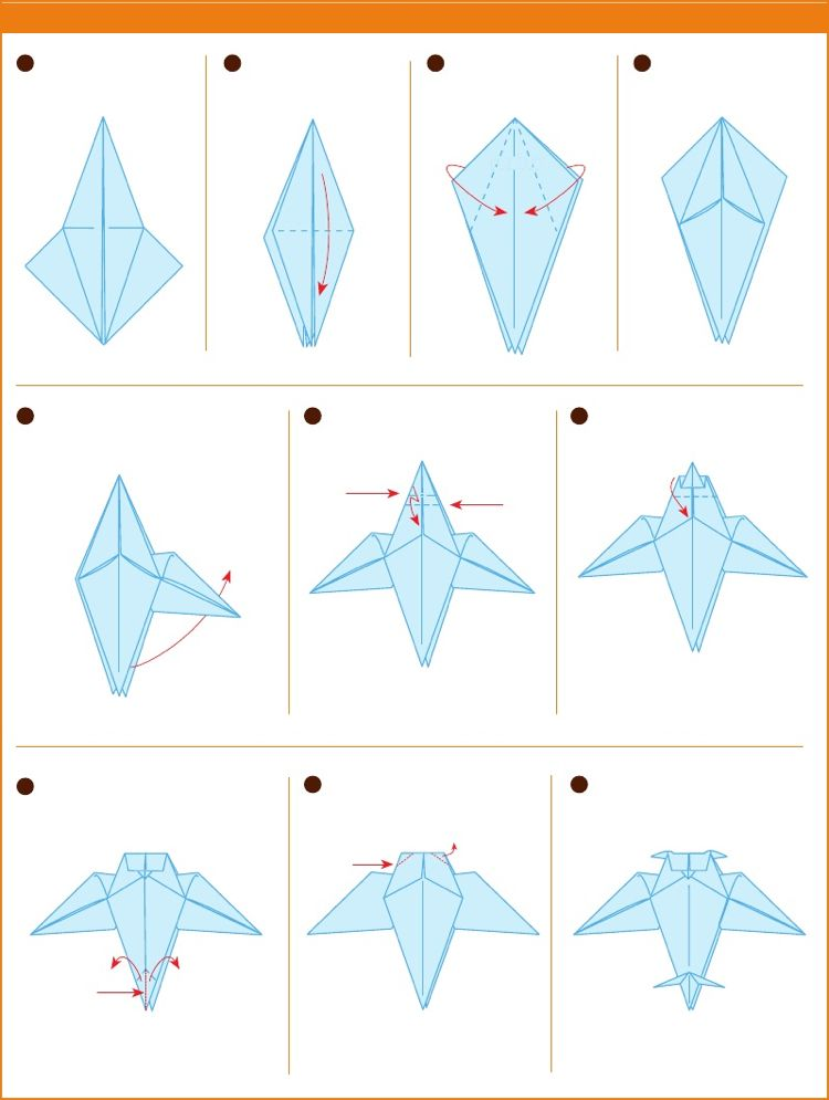 Origami Vogel Falten Bedeutung Der Beliebtesten Vogelarten