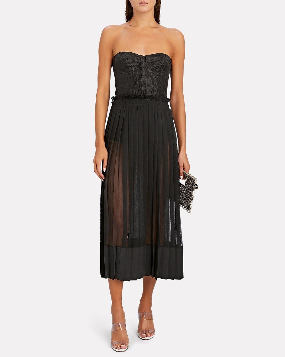 Inasia Strapless Midi Dress Strapless Midi Dress Dresses Select Dress [ 1250 x 1000 Pixel ]