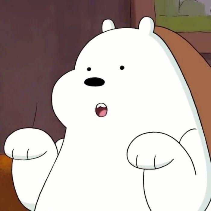 Pin Oleh Kiara Arcia Di We Are Bear Beruang Kutub Animasi Kartun