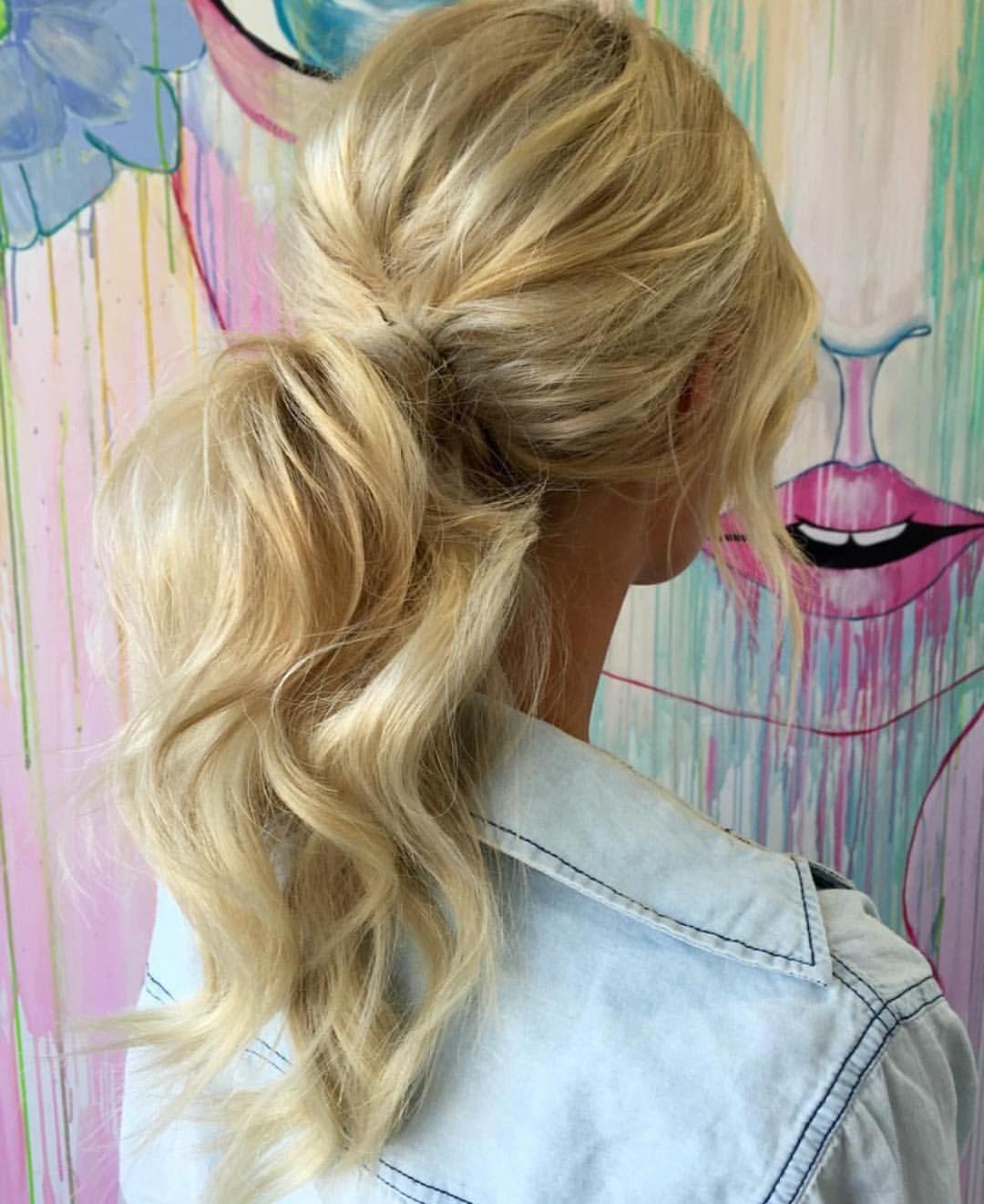 "Wedding Hairstyles Instagram: Bondi Sands™ On Instagram: ""Ponytail Goals By"