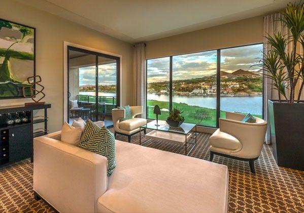 Residence One at Lago Vista at Lake Las Vegas. #WilliamLyonSignatureHome
