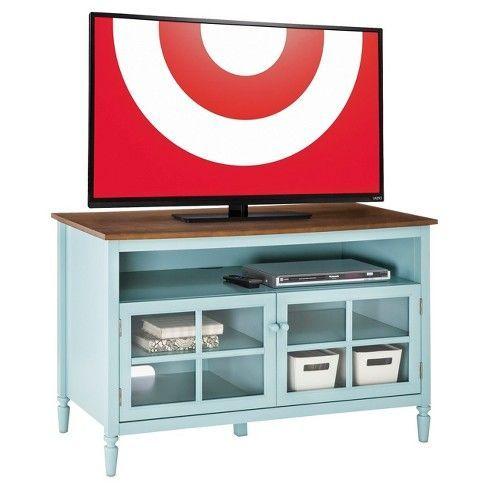Isabella Gl Door With 47 Open Shelf Tv Stand Target Tvstandshelf Entertainment