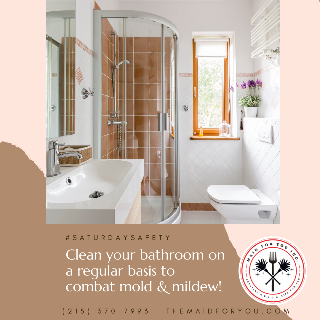Saturdaysafety Bathrooms Is An Excellent Place For Mold And Mildew To Grow And Surface So It S Very Importan In 2020 Bathroom Cleaning Bathtub Shower Mold And Mildew