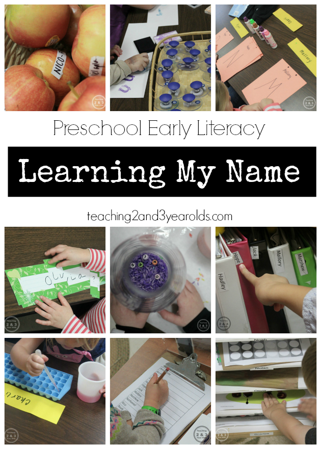 Preschool Name Recognition Ideas Preschool names