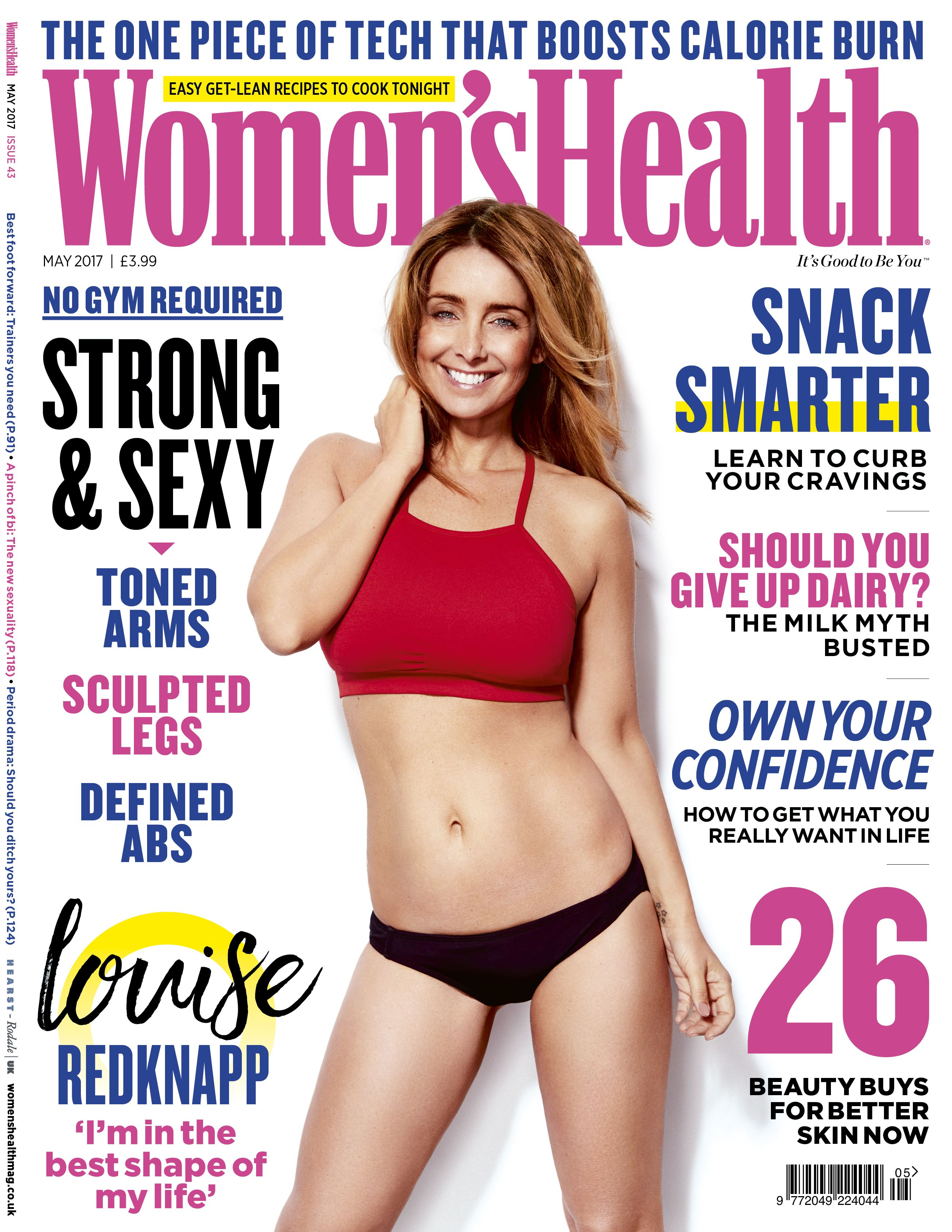 May Womens Health Louise Redknapp By Adam Gerrard Shot By Ian