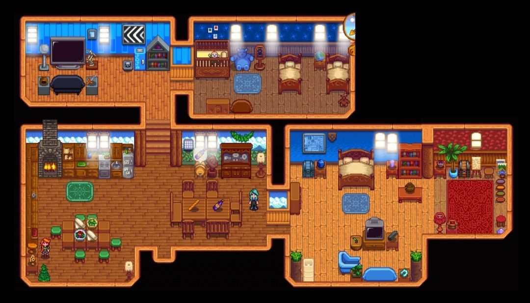 Married Leah in this playthrough - This is our home >Stardew